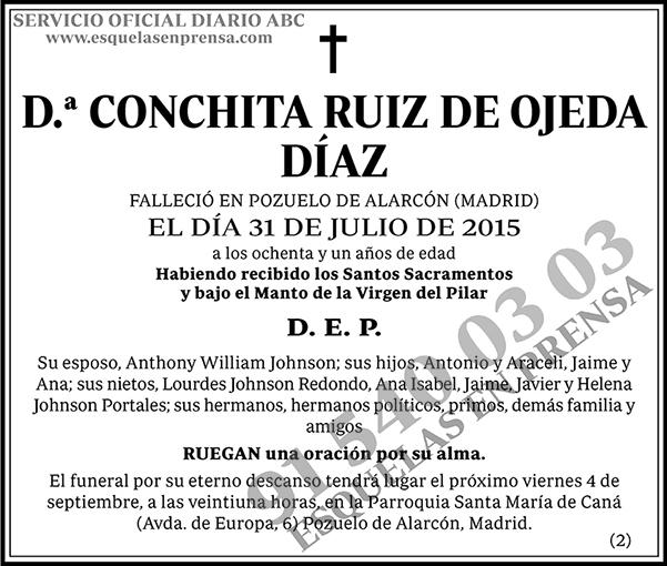 Conchita Ruiz de Ojeda Díaz